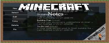 Notes Mod 1.16.4/1.12.2/1.10.2/1.7.10