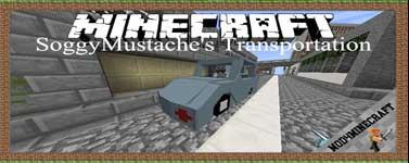SoggyMustache's Transportation Mod 1.12.2/1.10.2/1.7.10