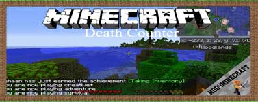 Death Counter Mod 1.16.4/1.12.2/1.7.10