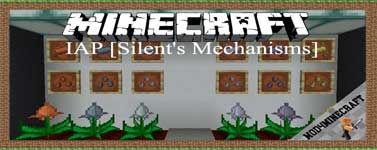 IAP [Silent's Mechanisms] Mod 1.16.4/1.15.2/1.14.4