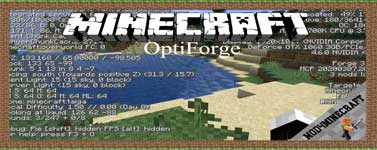 OptiForge Mod 1.16.5/1.15.2/1.14.4