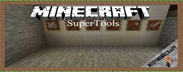 SuperTools Mod 1.16.4/1.15.2/1.14.4