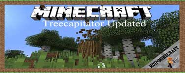 Treecapitator Updated Mod 1.12.2/1.11.2/1.10.2