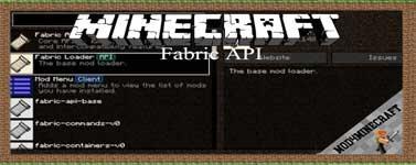Fabric API Mod 1.17.1/1.15.2/1.14.4