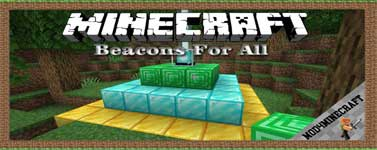 Beacons For All (Forge) Mod 1.16.5/1.15.2/1.12.2