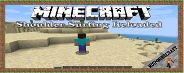Shoulder Surfing Reloaded Mod 1.16.5/1.12.2/1.7.10