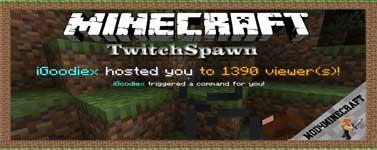 TwitchSpawn Mod 1.16.5/1.14.4/1.12.2