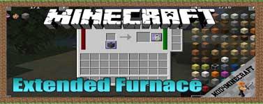 Extended Furnace Mod 1.15.2/1.14.4