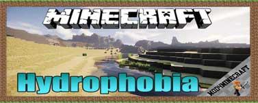 Hydrophobia Mod 1.12.2/1.11.2/1.10.2