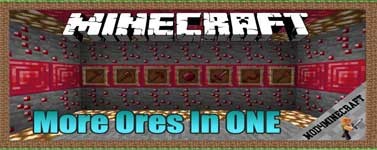 More Ores In ONE Mod 1.16.5/1.15.2/1.14.4