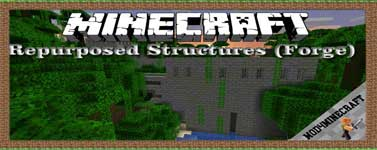 Repurposed Structures (Forge) Mod 1.16.5/1.15.2