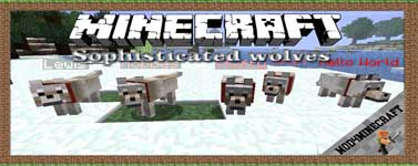 Sophisticated wolves Mod 1.12.2/1.10.2/1.7.10