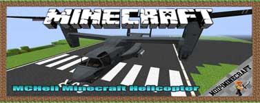 MCHeli Minecraft Helicopter Mod 1.7.10