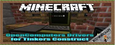OpenComputers Drivers for Tinkers Construct Mod 1.12.2