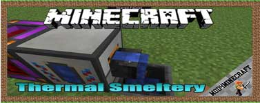 Thermal Smeltery Mod 1.10.2/1.7.10